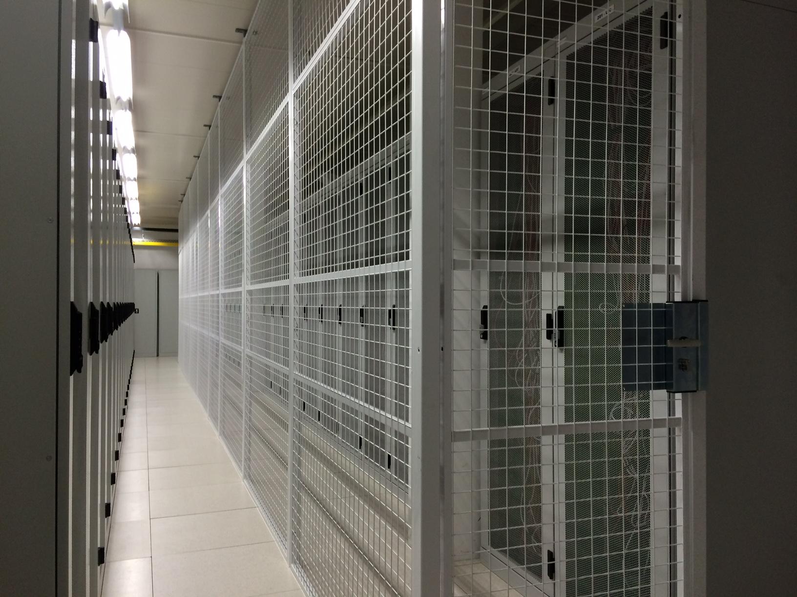 Messcher Guard,Afscherming dataruimte