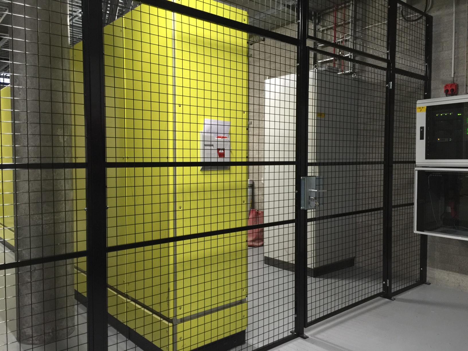 afscherming dataruimte Rotterdam